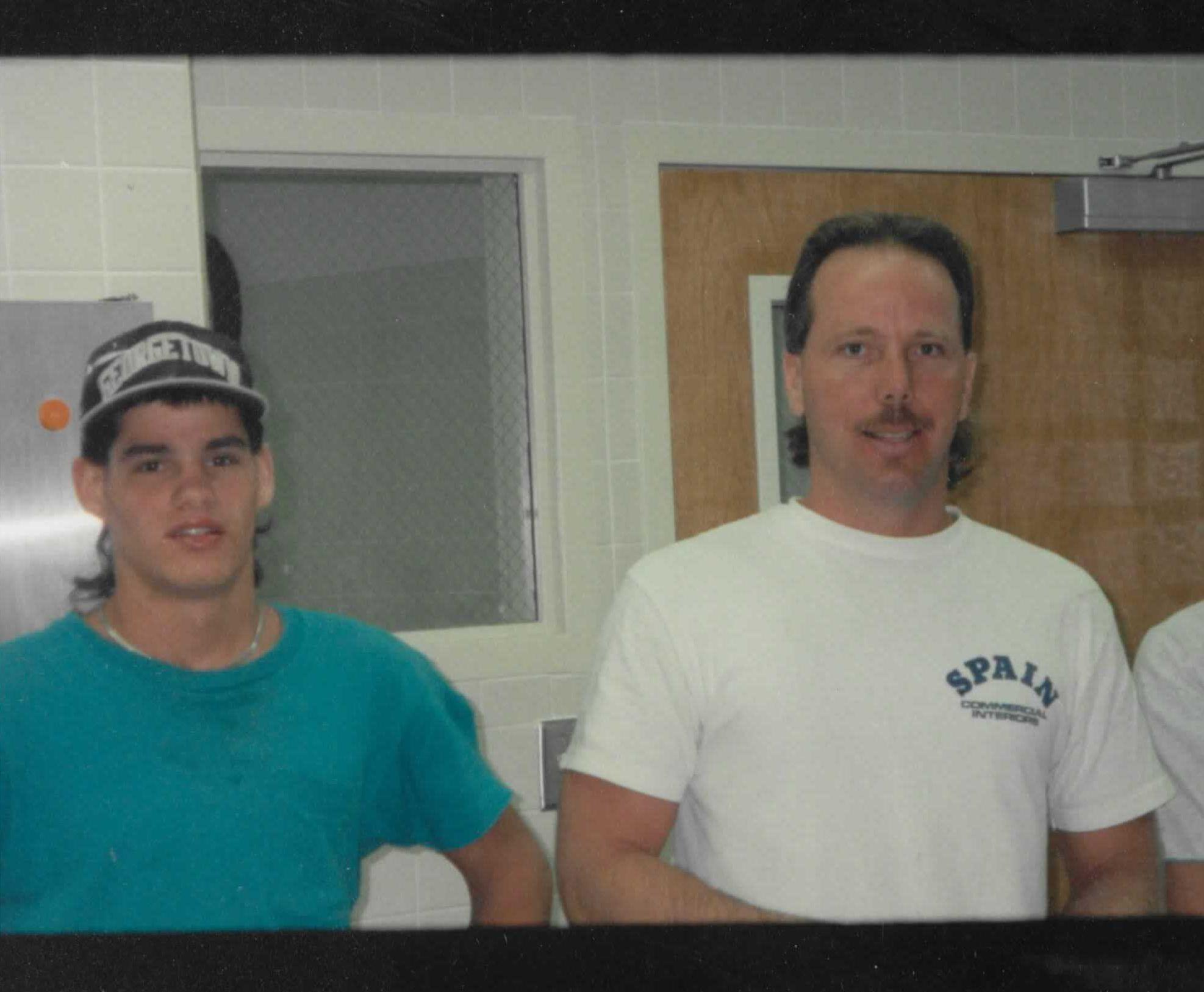 Steve Snell and Steve Spain